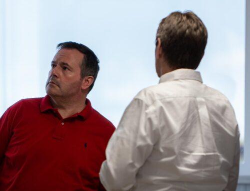 Alberta Premier Jason Kenney visits Foremost UAS Range